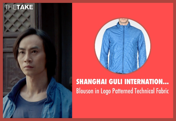 Shanghai GuLi International Trading Limited blue fabric from Man of Tai Chi seen with Tiger Hu Chen (Tiger Chen Lin Hu)