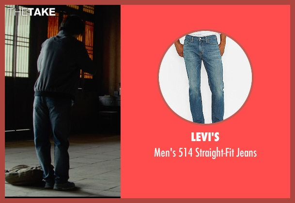 Levi's blue jeans from Man of Tai Chi seen with Tiger Hu Chen (Tiger Chen Lin Hu)
