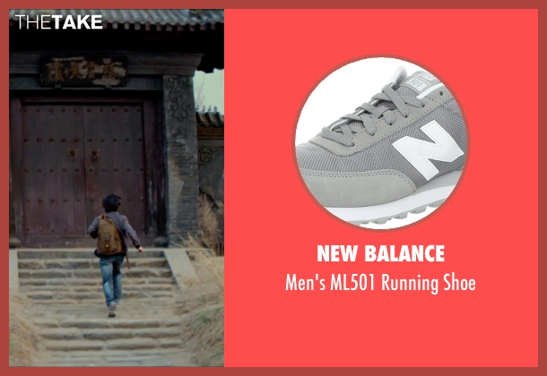 New Balance gray shoe from Man of Tai Chi seen with Tiger Hu Chen (Tiger Chen Lin Hu)
