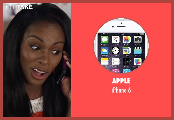 Apple 6 from Ride Along 2 seen with Tika Sumpter (Angela Payton)