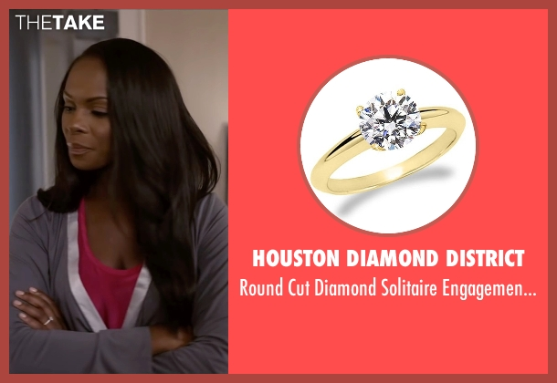 Houston Diamond District gold ring from Ride Along 2 seen with Tika Sumpter (Angela Payton)