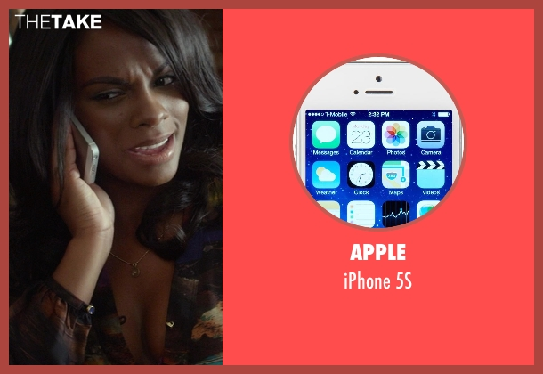 Apple 5s from Ride Along seen with Tika Sumpter (Angela Payton)