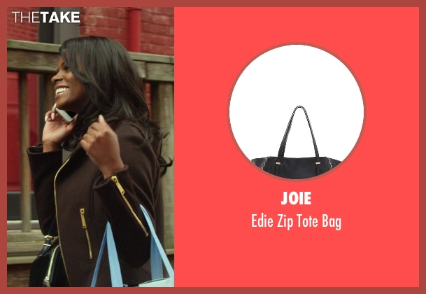 Joie black bag from Ride Along seen with Tika Sumpter (Angela Payton)