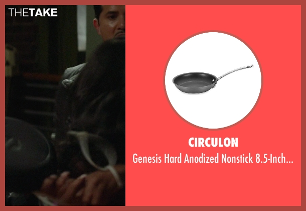 Circulon skillet from Ride Along seen with Tika Sumpter (Angela Payton)