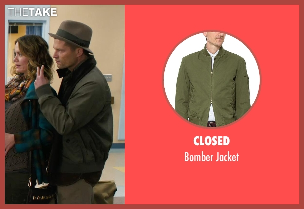 Closed green jacket from New Year's Eve seen with Til Schweiger (James Schwab)