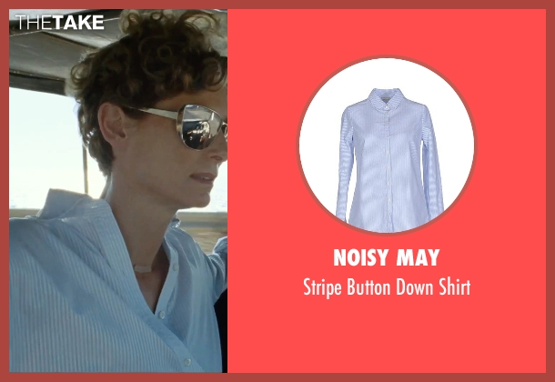 Noisy May blue shirt from A Bigger Splash seen with Tilda Swinton (Marianne Lane)