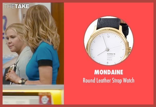 Mondaine black watch from Trainwreck seen with Tilda Swinton (Dianna)