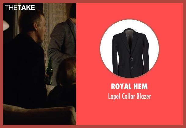 Royal Hem black blazer from The Gift seen with Tim Griffin (Kevin)