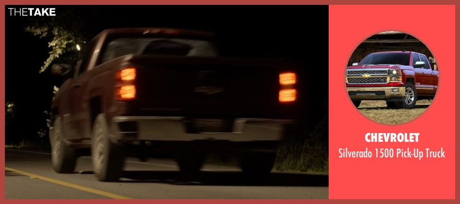 Chevrolet truck from Tomorrowland seen with Tim McGraw (Casey's tough-as-nails hothead father)