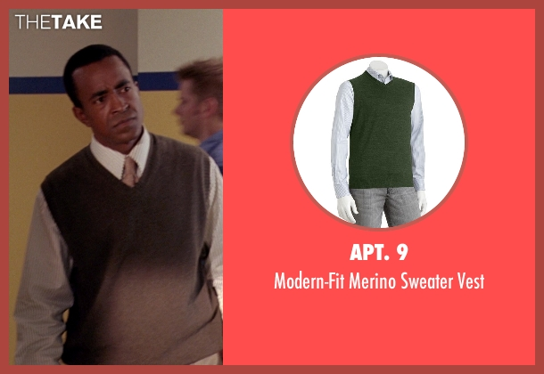 Apt. 9 green vest from Mean Girls seen with Tim Meadows (Mr. Duvall)