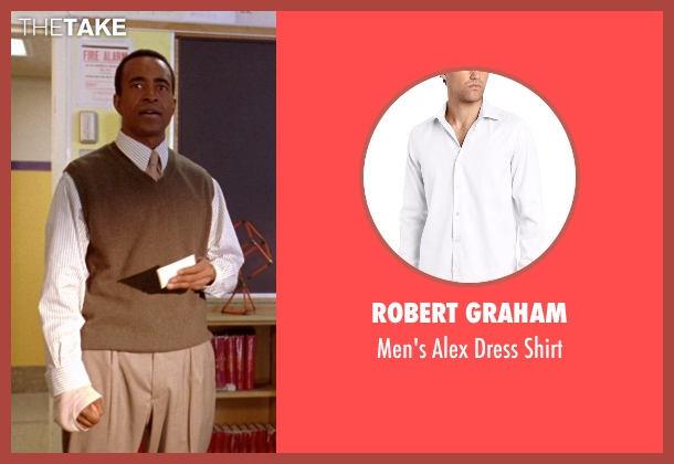 Robert Graham white shirt from Mean Girls seen with Tim Meadows (Mr. Duvall)