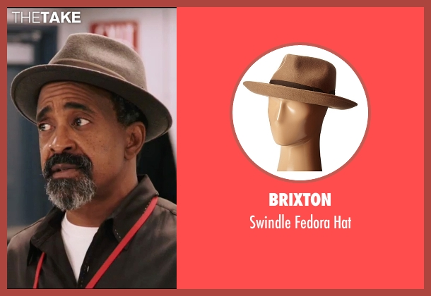 Brixton gray hat from Popstar: Never Stop Never Stopping seen with Tim Meadows