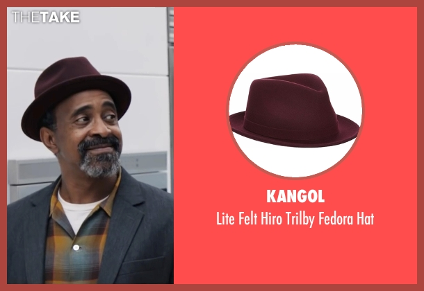 Kangol red hat from Popstar: Never Stop Never Stopping seen with Tim Meadows (Unknown Character)