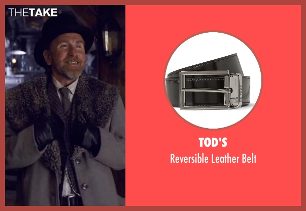 Tod's black belt from The Hateful Eight seen with Tim Roth (Oswaldo Mobray)
