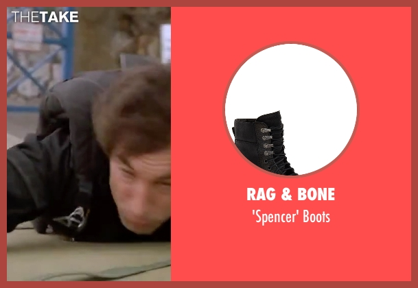 Rag & Bone black boots from The Living Daylights seen with Timothy Dalton (James Bond)