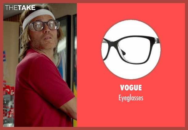 Vogue black eyeglasses from This Is Where I Leave You seen with Timothy Olyphant (Horry)