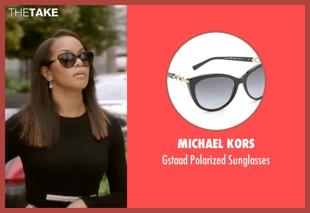 Michael Kors black sunglasses from Ballers seen with Tina (LeToya Luckett)