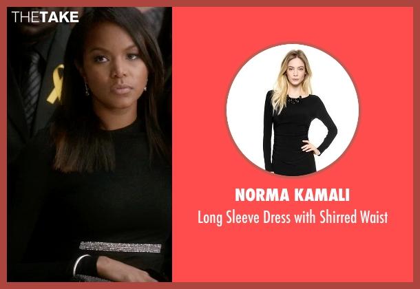 Norma Kamali black waist from Ballers seen with Tina (LeToya Luckett)