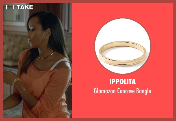 Ippolita gold bangle from Ballers seen with Tina (LeToya Luckett)