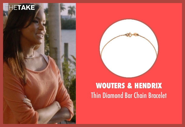 Wouters & Hendrix gold bracelet from Ballers seen with Tina (LeToya Luckett)
