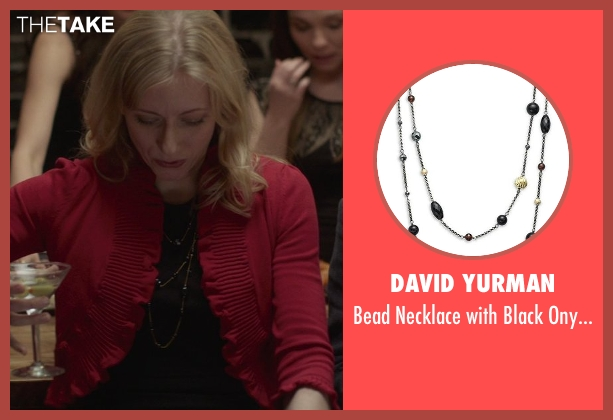 David Yurman black gold from That Awkward Moment seen with Tina Benko (Ellie's Mom)