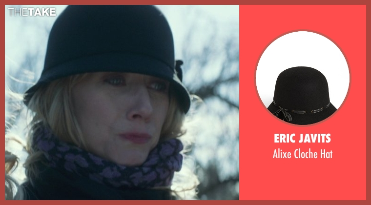 Eric Javits black hat from That Awkward Moment seen with Tina Benko (Ellie's Mom)