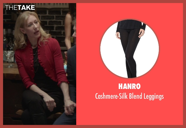 Hanro black leggings from That Awkward Moment seen with Tina Benko (Ellie's Mom)