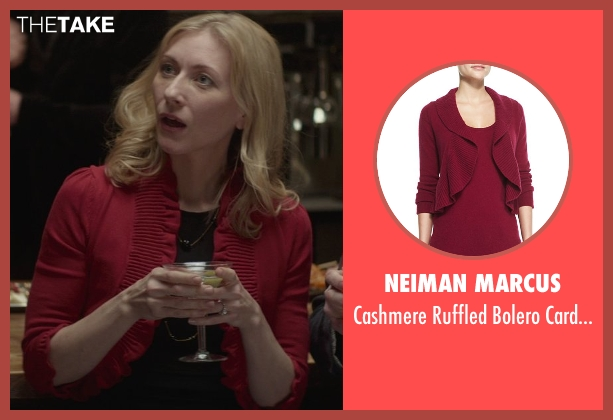Neiman Marcus red cardigan from That Awkward Moment seen with Tina Benko (Ellie's Mom)