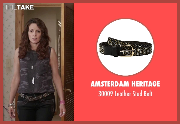 Cowboys Belt black belt from Sisters seen with Tina Fey (Katie Ellis)