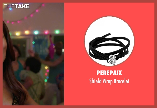 Perepaix black bracelet from Sisters seen with Tina Fey (Katie Ellis)