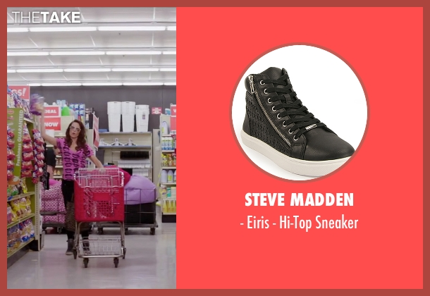 Steve Madden black sneaker from Sisters seen with Tina Fey (Katie Ellis)