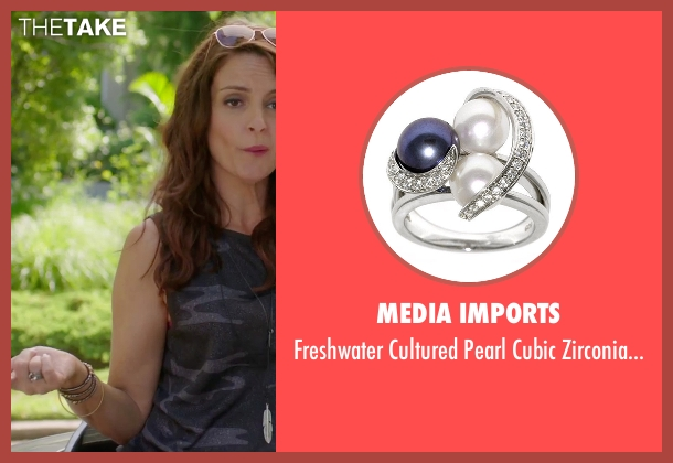 Sevilla Silver silver ring from Sisters seen with Tina Fey (Katie Ellis)