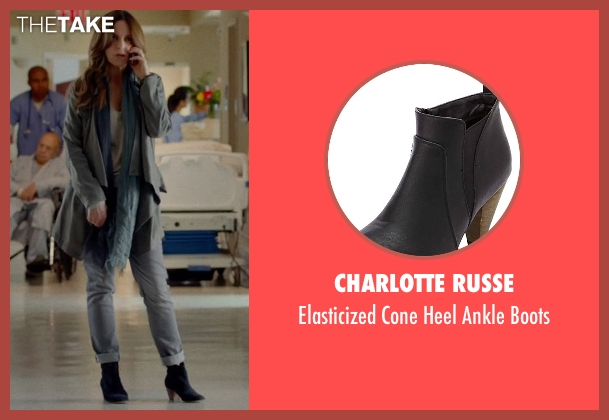 Charlotte Russe black boots from This Is Where I Leave You seen with Tina Fey (Wendy Altman)