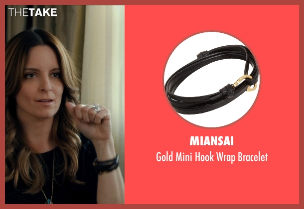 MIANSAI black bracelet from This Is Where I Leave You seen with Tina Fey (Wendy Altman)