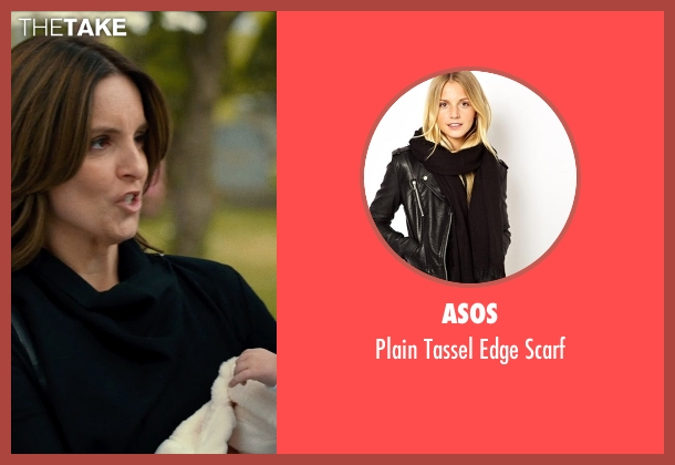 ASOS black scarf from This Is Where I Leave You seen with Tina Fey (Wendy Altman)