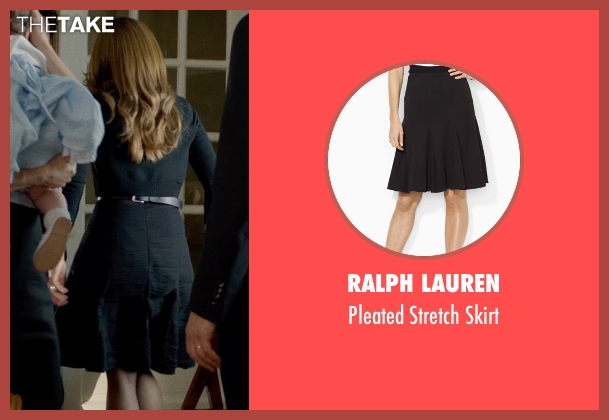 RALPH LAUREN black skirt from This Is Where I Leave You seen with Tina Fey (Wendy Altman)