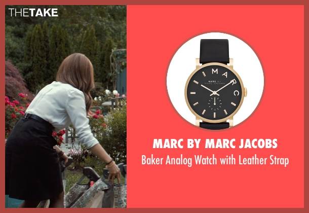 MARC BY MARC JACOBS black strap from This Is Where I Leave You seen with Tina Fey (Wendy Altman)