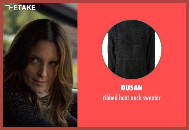 DUSAN black sweater from This Is Where I Leave You seen with Tina Fey (Wendy Altman)