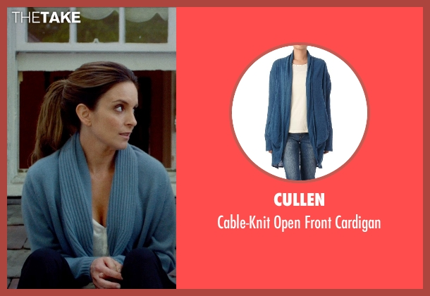 Cullen blue cardigan from This Is Where I Leave You seen with Tina Fey (Wendy Altman)