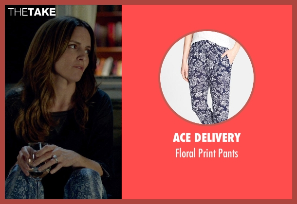 ACE DELIVERY blue pants from This Is Where I Leave You seen with Tina Fey (Wendy Altman)