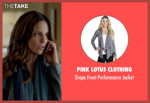 Pink Lotus Clothing gray jacket from This Is Where I Leave You seen with Tina Fey (Wendy Altman)