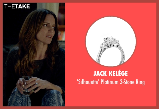 Jack Kelége silver ring from This Is Where I Leave You seen with Tina Fey (Wendy Altman)