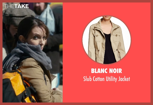 Blanc Noir beige jacket from Whiskey Tango Foxtrot seen with Tina Fey (Kim Barker)