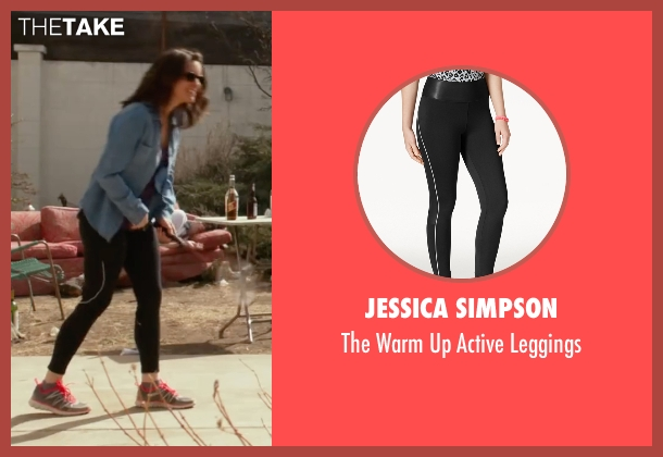 Jessica Simpson black leggings from Whiskey Tango Foxtrot seen with Tina Fey (Kim Barker)