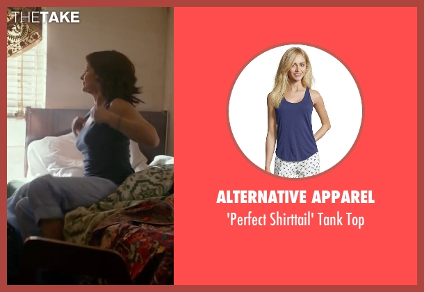 Alternative Apparel blue top from Whiskey Tango Foxtrot seen with Tina Fey (Kim Barker)