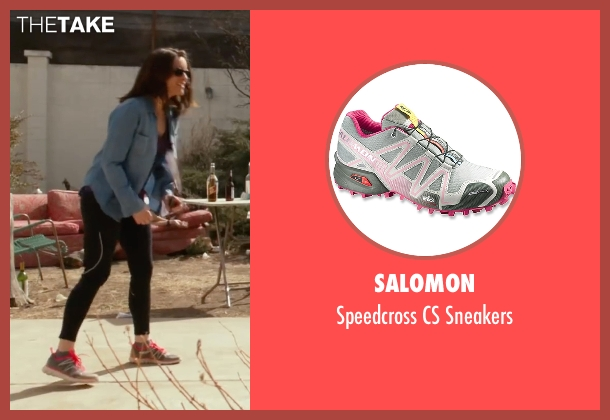 Salomon gray sneakers from Whiskey Tango Foxtrot seen with Tina Fey (Kim Barker)
