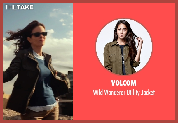 Volcom green jacket from Whiskey Tango Foxtrot seen with Tina Fey (Kim Barker)