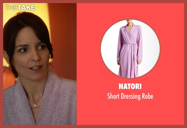 Natori purple robe from Whiskey Tango Foxtrot seen with Tina Fey (Kim Barker)