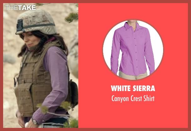 White Sierra purple shirt from Whiskey Tango Foxtrot seen with Tina Fey (Kim Barker)