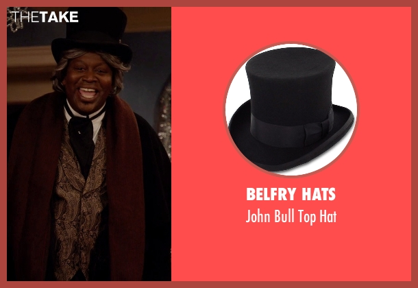 Belfry Hats black hat from Unbreakable Kimmy Schmidt seen with Titus (Tituss Burgess)